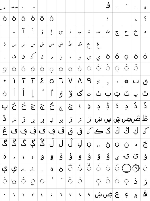 AlQalam Fakhar Naveed Urdu Font