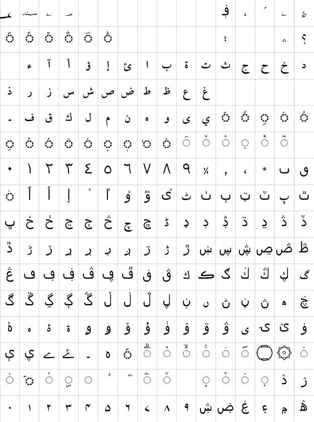 AlQalam Fawad Bold Urdu Font