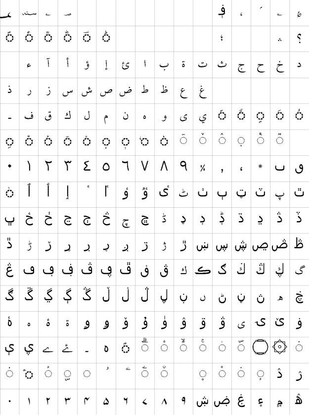 AlQalam Fawad Light Urdu Font