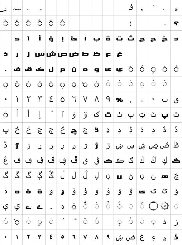 AlQalam Khawar Urdu Font