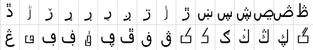 Bombay Black Unicode Urdu Font