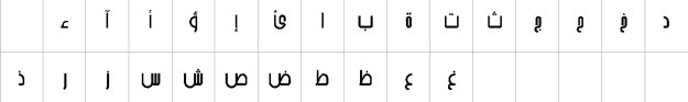 AlFars 1 Arshia Urdu Font