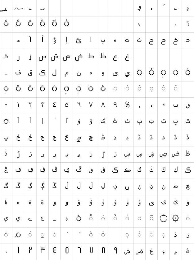AlFars 12 Elm Urdu Font