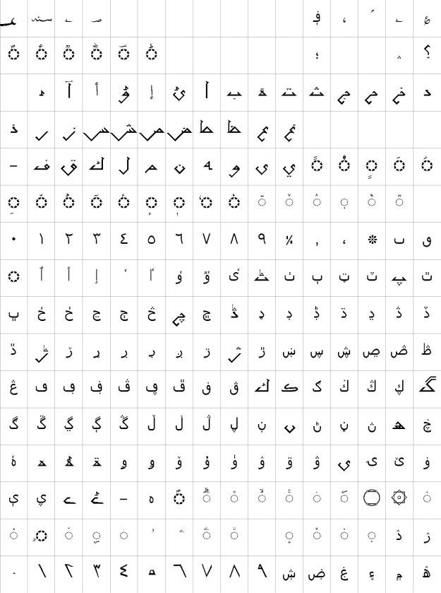 AlFars 24 Ahram Urdu Font