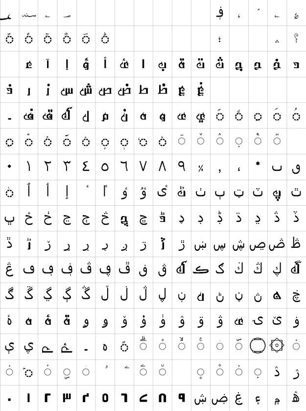 AA Sameer Asmaak Urdu Font