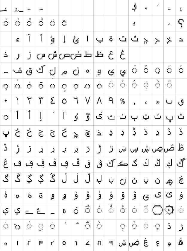 AA Sameer DTP Font Urdu Font