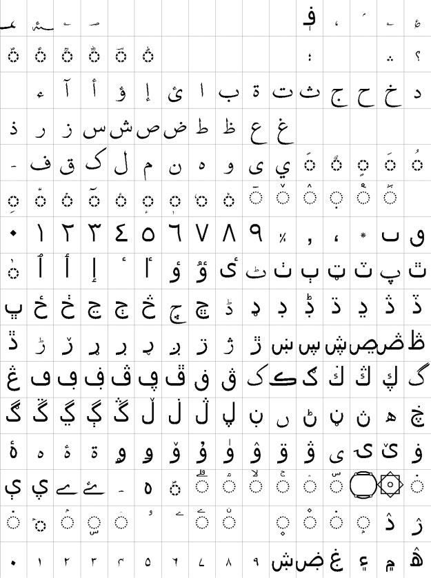 AA Sameer Kelk Urdu Font