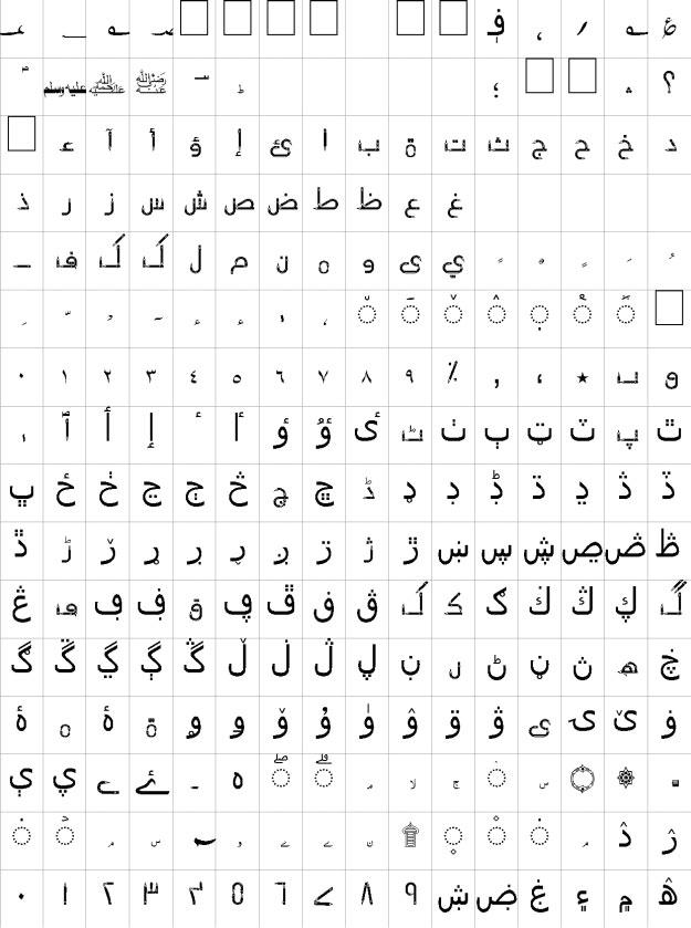 AA Sameer Pencil Unicode Urdu Font