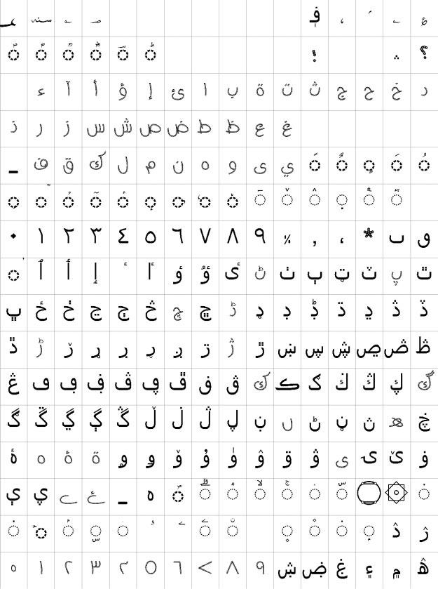 AA Sameer Ropiya Urdu Font