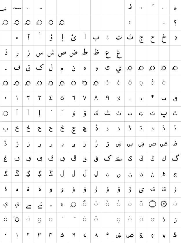 AlKatib Urdu Font