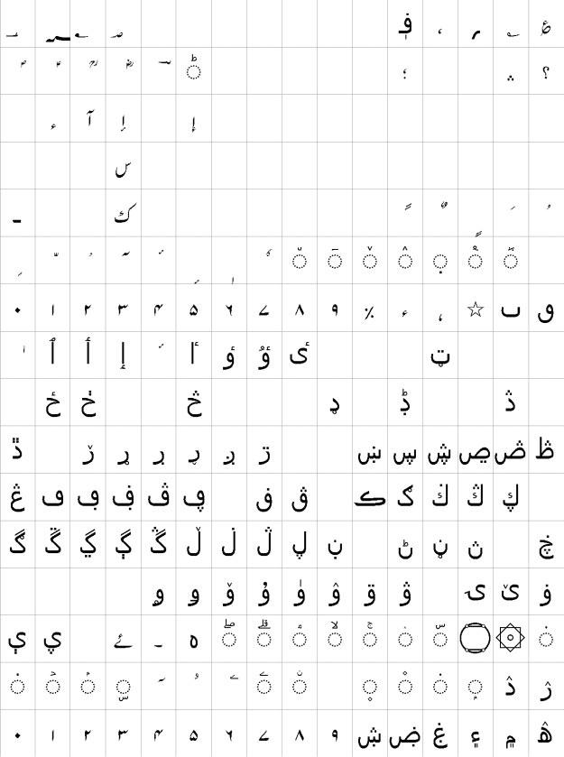 Alvi Lahori Nastaleeq Urdu Font