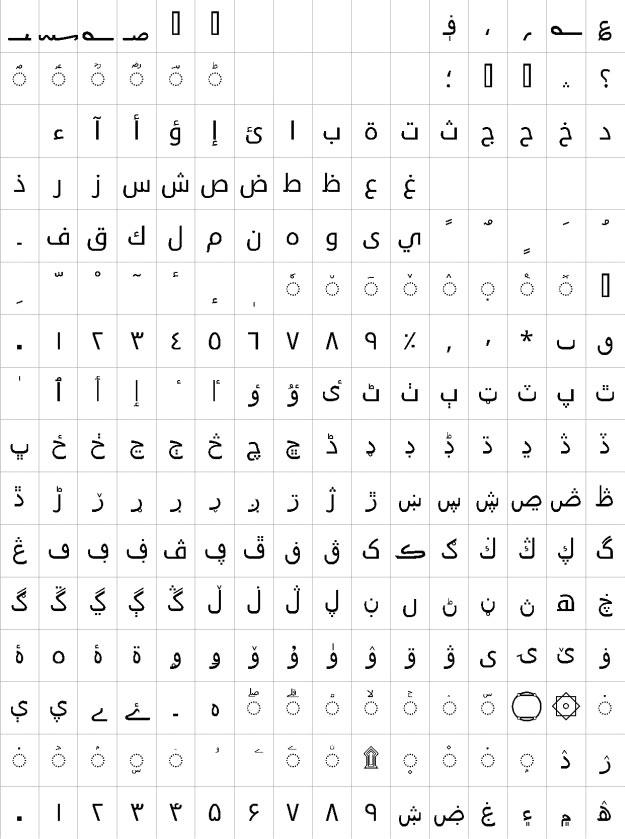 Droid Sans Arabic Urdu Font