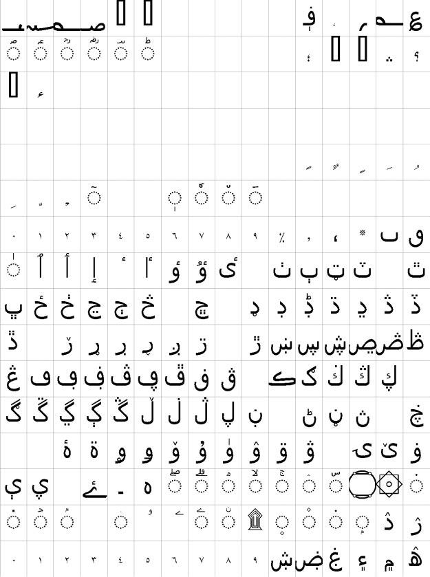 Gandhara Suls Urdu Font