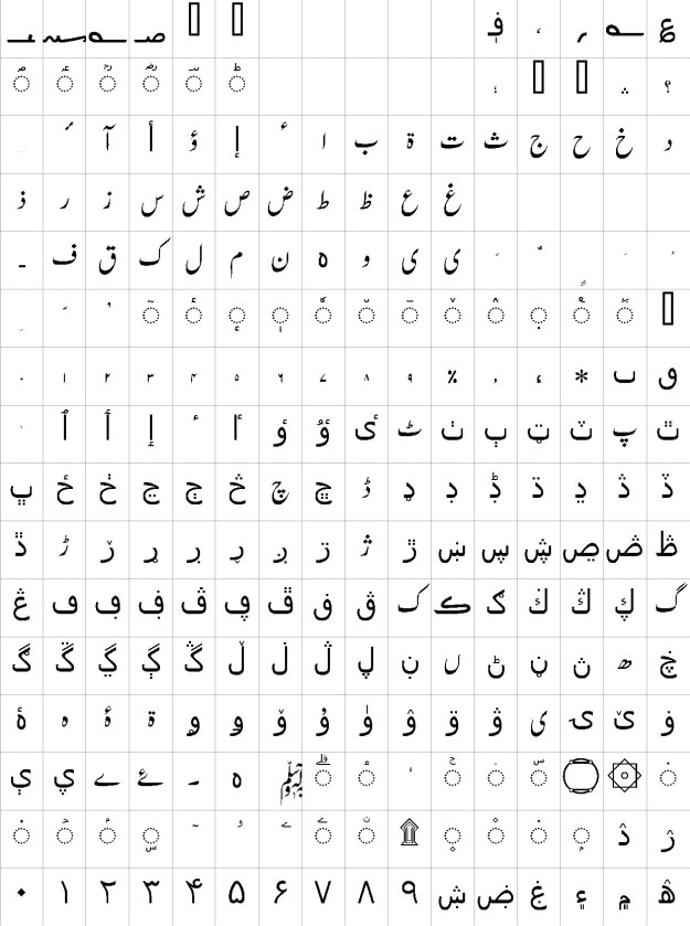 Nastaleeq Numa Urdu Font