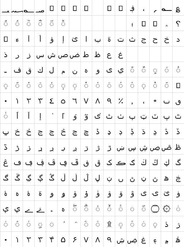 Segoe UI Cursiva Urdu Font