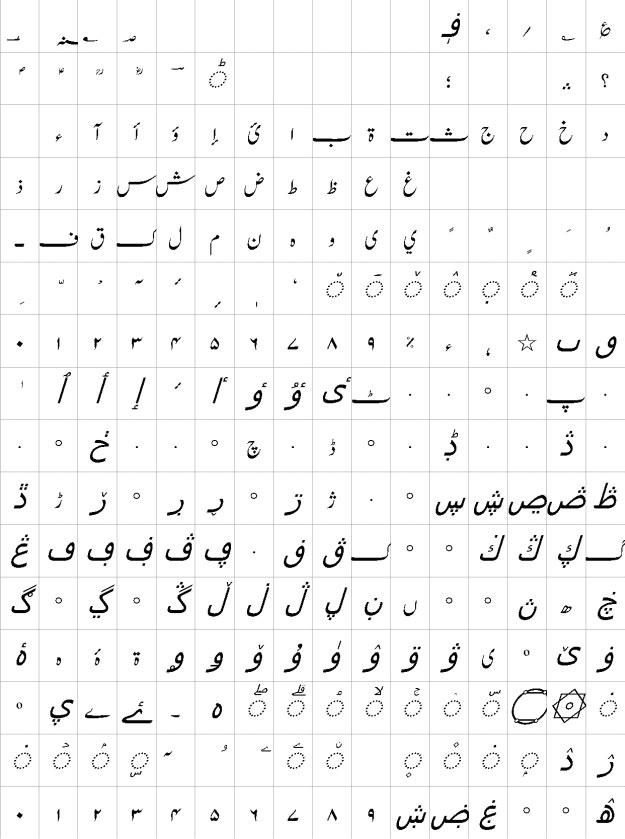 Jameel Noori Nastaleeq Italic Urdu Font