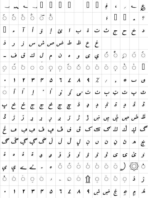 Mehfil Bold Italic Urdu Font