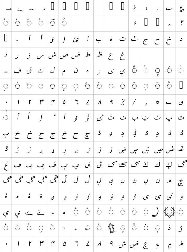 Mehfil Italic Urdu Font