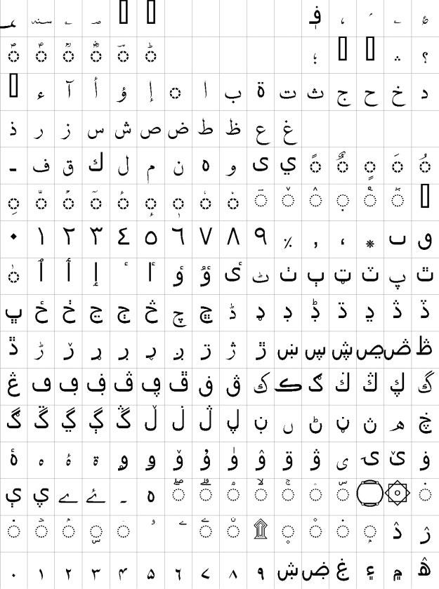 Nafees Naskh Urdu Font