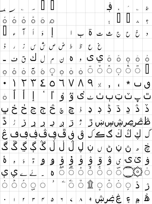 Nafees Nastaleeq Urdu Font
