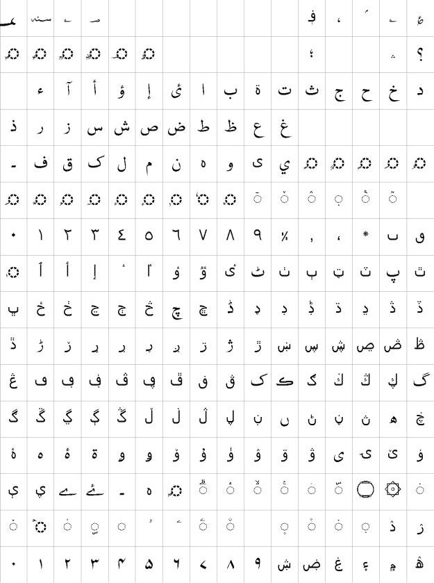 Nafees Web Naskh Urdu Font