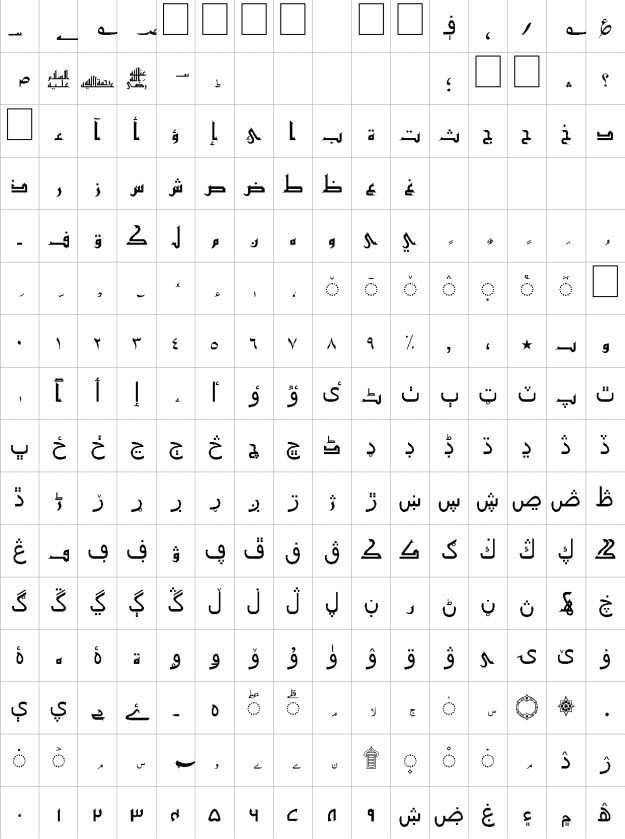 Akram Unicode Urdu Font