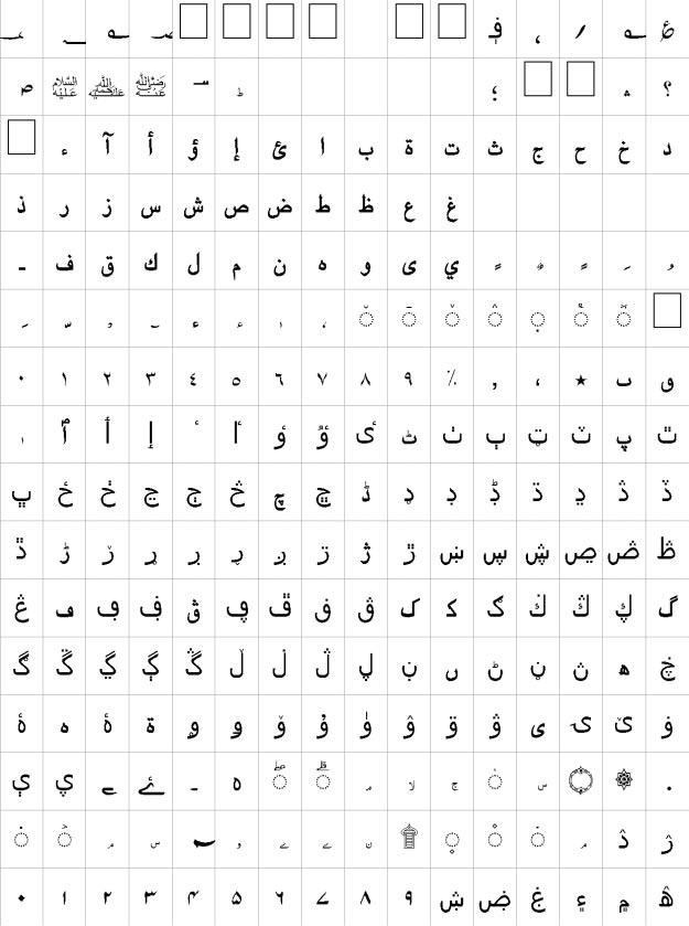Batool Unicode Urdu Font