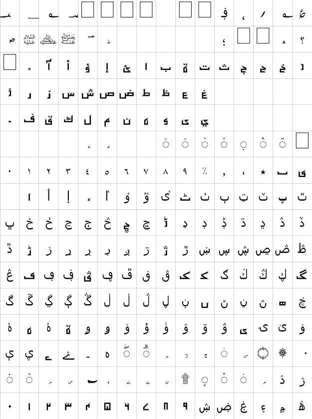 Iqram Unicode Urdu Font