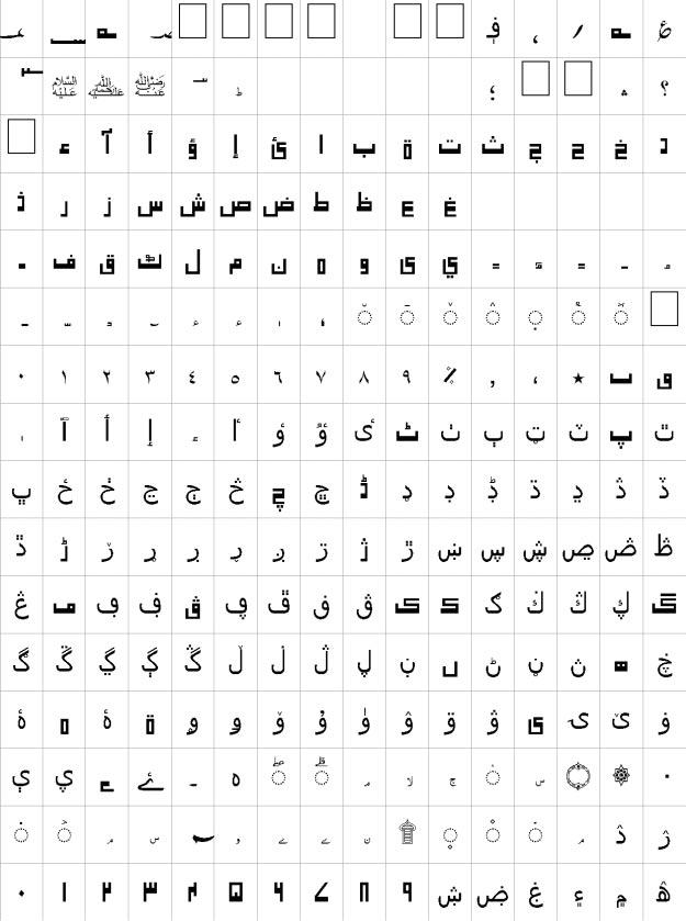 Jaben Unicode Urdu Font