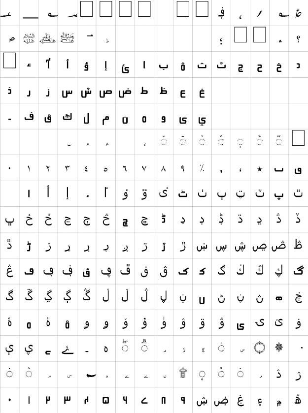 Labeb Unicode Urdu Font