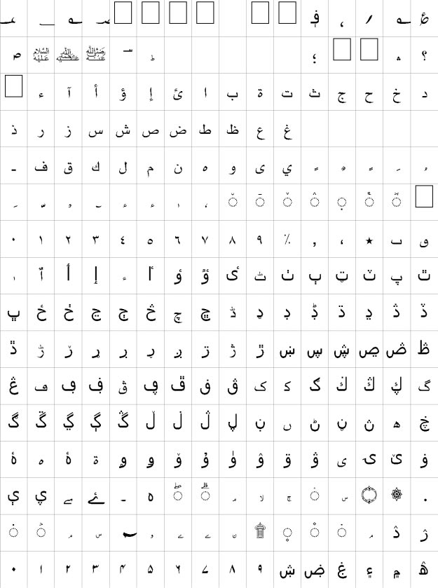 Nihal Urdu Font