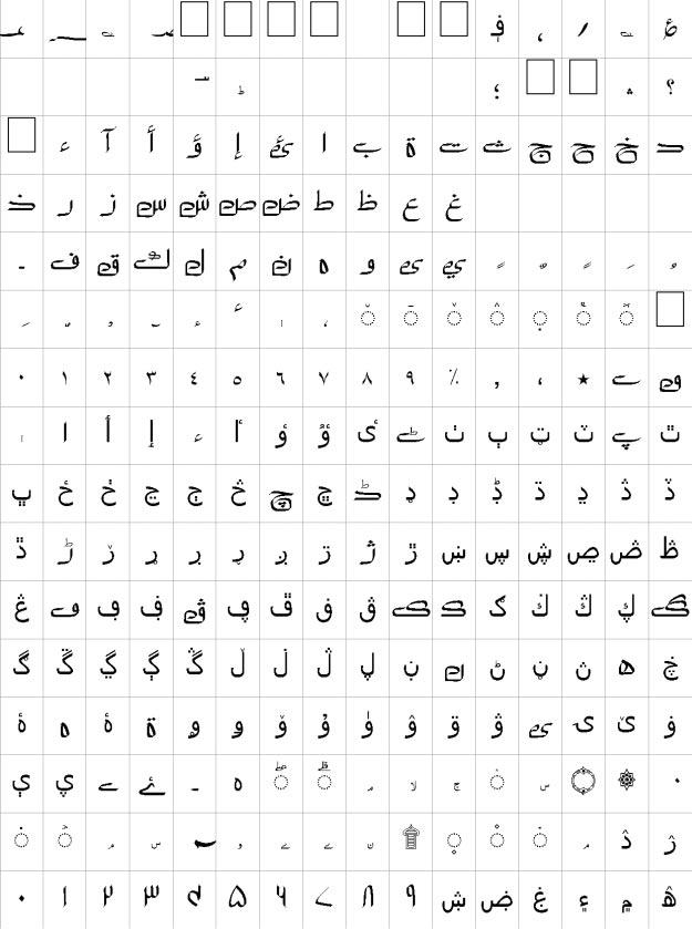 Riyaz Unicode Urdu Font