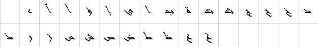 Shifa Italic Unicode Urdu Font