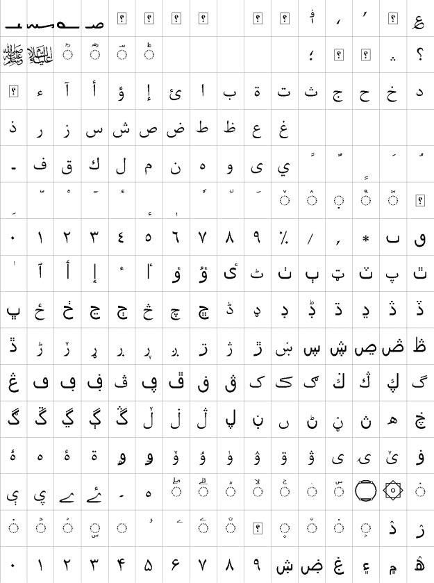 XB Kayhan Urdu Font