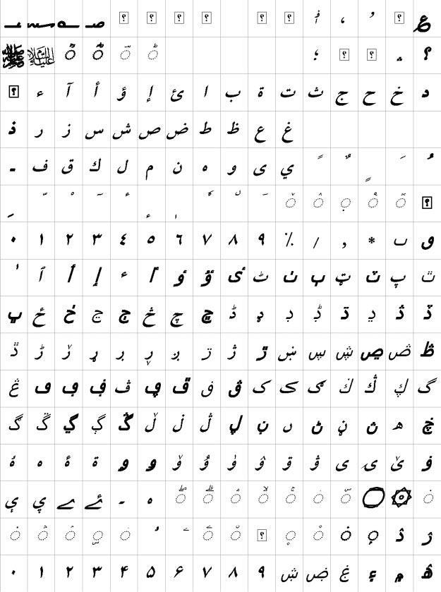 XB Niloofar Bold Italic Urdu Font