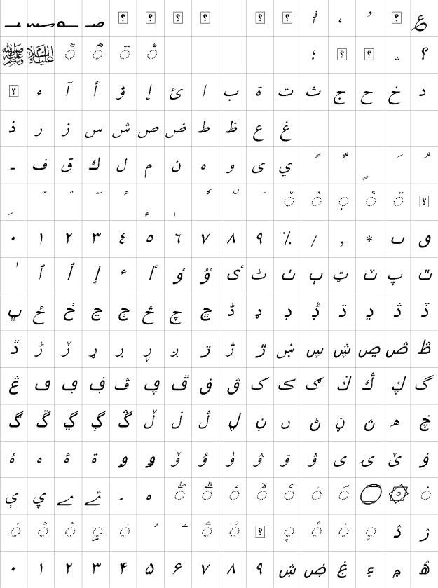 XB Niloofar Italic Urdu Font
