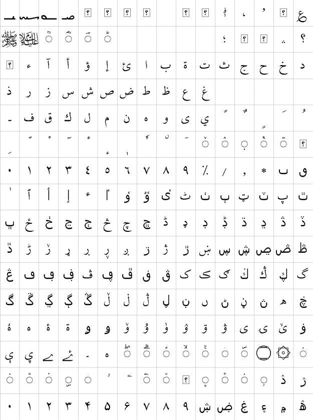 XB Niloofar Urdu Font