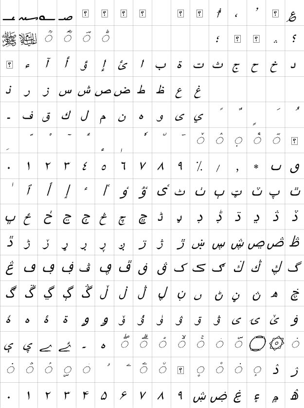 XB Riyaz Italic Urdu Font
