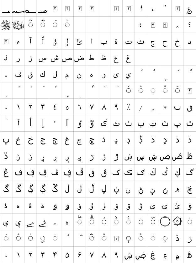 XB Riyaz Urdu Font