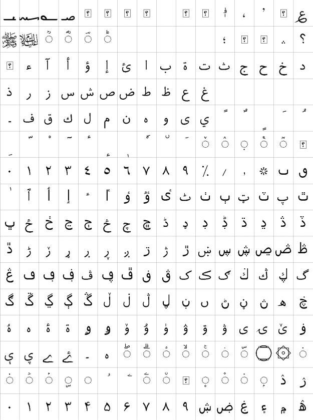 XB Roya Urdu Font
