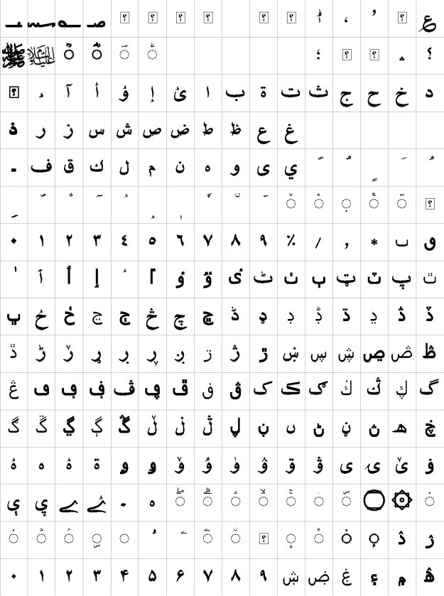 XB Shafigh Bold Urdu Font