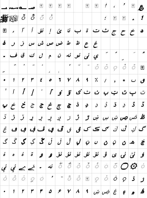 XB Shafigh Uzbek Bold Italic Urdu Font