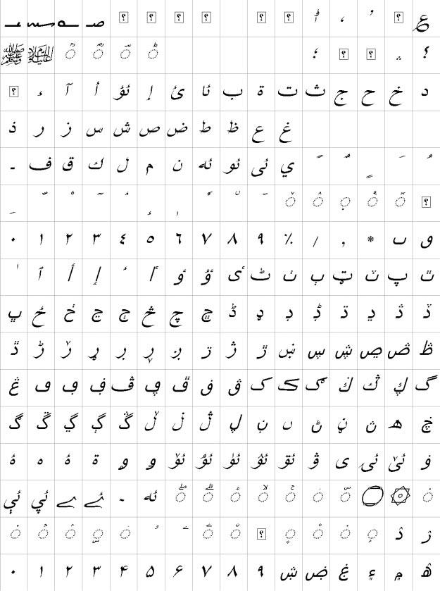 XB Shafigh Uzbek Italic Urdu Font