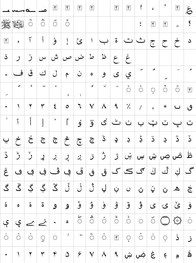 XB Shafigh Urdu Font