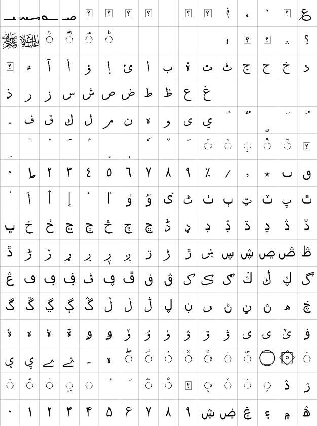 XB Sols Urdu Font