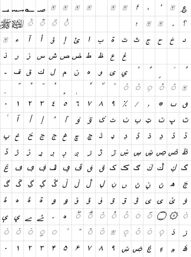 XB Yagut Italic Urdu Font